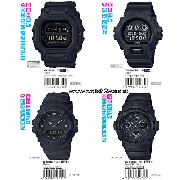timeless design 83dde 993e4 CASIO ,G-SHOCK , AW-591BB-1A